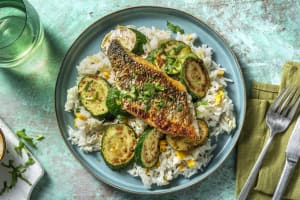 Mexican-Spiced Barramundi and Corn Rice image