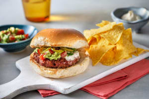 Mexican Spiced Cheeseburger image