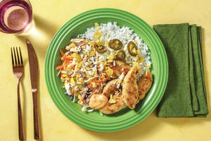 Mexican-Style Chicken with Creamy Slaw & Smokey Aioli image