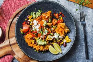 Mexikanische Süsskartoffel aus dem Ofen image
