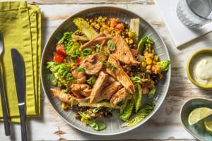 Mexikanischer Salat mit BBQ-Hähnchen image