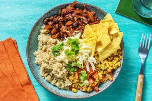 Mexikansk-inspirerad bönbowl image
