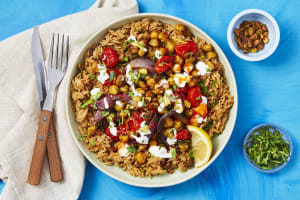 Middle Eastern Chickpea Bowls image