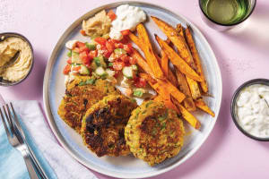 Middle Eastern Chickpea Patties image