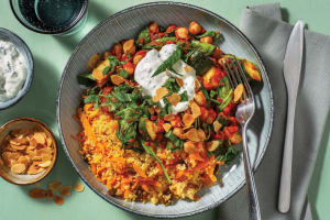 Middle Eastern Chickpea & Tomato Stew image