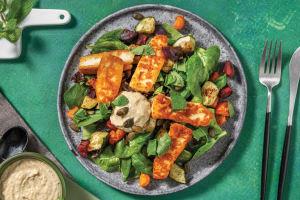 Middle Eastern Haloumi & Roast Veggie Toss image