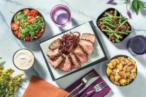 Roast Lamb & Dukkah Fetta Potatoes image