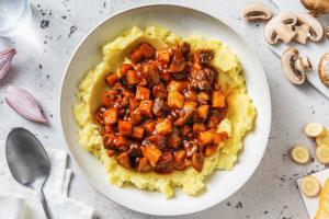 Vegetarisch stoofpotje met cranberrychutney image