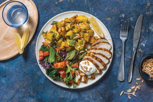 Mild North Indian Chicken & Bombay Potatoes image
