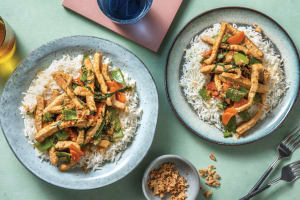 Mild Thai Pork & Veggie Stir-Fry image