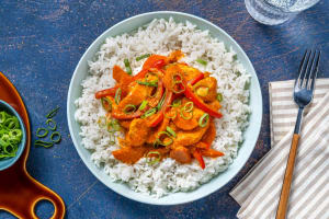 Mildes Korma Curry mit Pouletgeschnetzeltem image