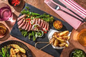 Honey Miso Glazed Sirloin Steak image