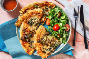 Mixed Mushroom Pizza image