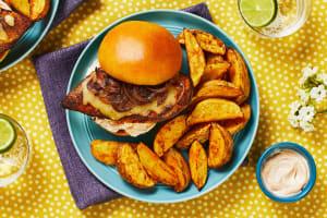Monterey Jack Chicken Sandwich image