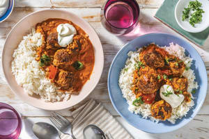Mumbai Beef Meatball Curry image