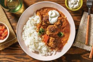 Mumbai Beef Meatball Curry image