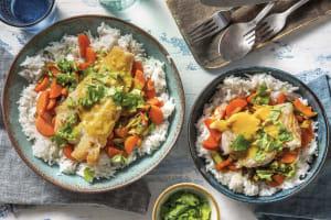 Mumbai-Style Coconut Fish Curry image