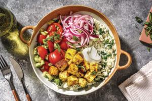 Mumbai-Style Paneer & Garlic Rice Bowl image
