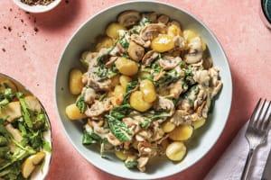 Creamy Mushroom & Parmesan Gnocchi image