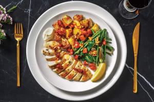 Mustard Thyme Chicken & Chorizo Topping image