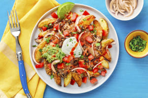 Nacho-Rific Loaded Potato Wedges image
