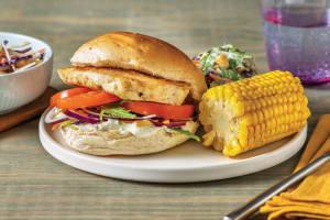 Quick Nan's Haloumi Burger image