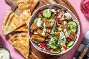 Nordisk falafel med hummus image