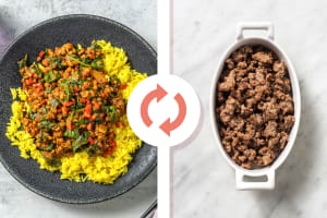 North Indian Style Beef and Lentil Curry image