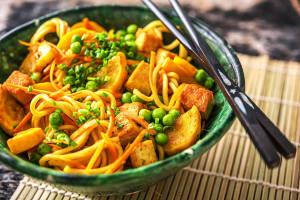 Singapore-Style Hakka Noodles image