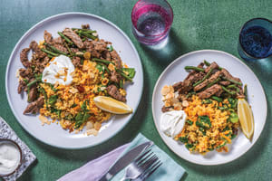 Herb-Spiced Beef & Jewelled Couscous image