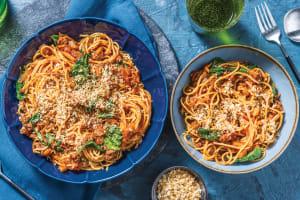 Beef & Veggie Ragu Spaghetti image