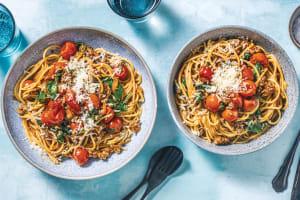 Venison, Beef & Cherry Tomato Bolognese image