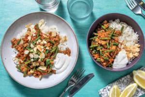 Chermoula Pork & Veggie Bowl image