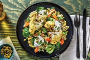Easy Berbere-Roasted Cauliflower Bowl image