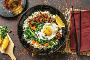 Asian Soy Beef & Ginger Rice Bowl image