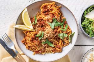 Red Pesto & Chorizo Fettuccine image