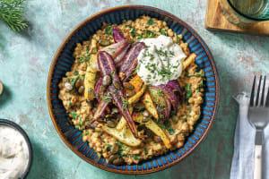 Spiced Veggie & Lentil Israeli Couscous image