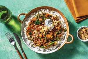 Sri Lankan Beef & Garlic Rice Bowl image