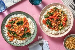 Sri Lankan Pulled Beef & Veggie Curry image