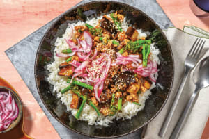 Sticky Chinese Pork & Eggplant image