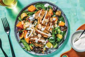 Sticky Apricot Chicken & Roast Veggie Salad image