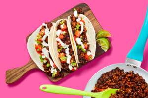 One-Pan Beefy Black Bean Tacos image