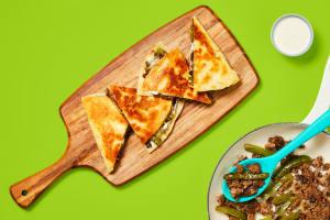 One-Pan Cheesy Beef Tortilla Melts image