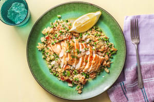 One-Pan Chicken and Couscous Pilaf image