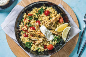 One-Pan Pesto Chicken & Veggie Couscous image