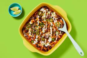One-Pan Rice & Bean Enchilada Bake image