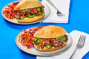 One-Pan Soy-Glazed Steak Banh Mi image