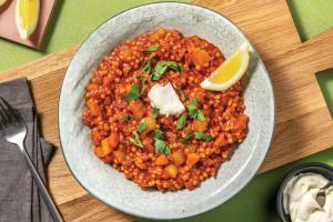 One-Pan Spanish Chorizo & Couscous Stew image