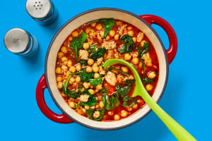 One-Pot Chicken Sausage & Chickpea Soup image