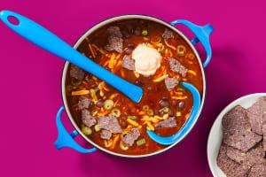 One-Pot Mexicali Black Bean Soup image